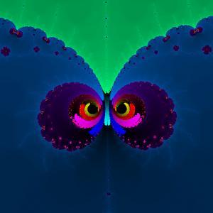 An owl hidden in Mandebrot Set