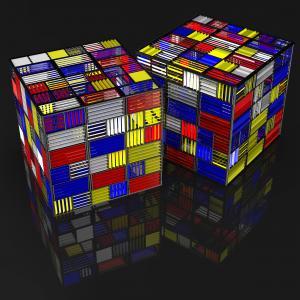 Shutter cubes