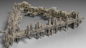 Space station Triangularium