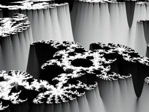 Mandelbrot height map