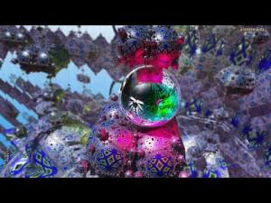 "(4K) Chained Binaries--""You and Me""--3D Fractal Animation Music Video"