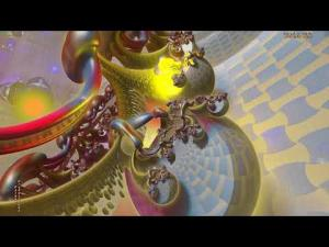 "(4K) A Mazing Sir Face--""Whampa Chunk""--3D Fractal Animation Music Video"