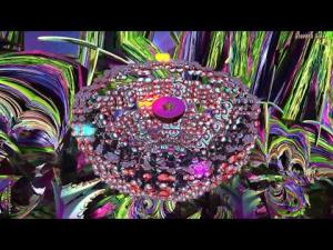 "(4K Video) Bermarte Chaos Box--""Z'ha'dum""--3D Fractal Animation Music Video"