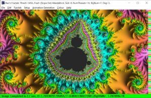 Mandelbrot by Derivative Method