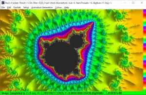 Pretty Mandelbrot Perturbation with Derivative Slope