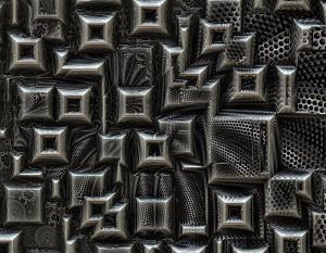 Metal fractal