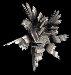 Wild metal Origami.