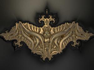 A golden Bat