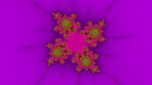 Fractal Floral Arrangement