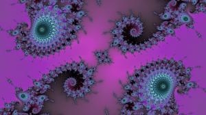 Diamond Double Spiral