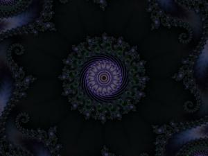 Wreath of Dark Violets